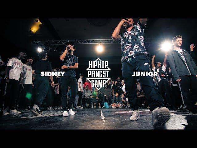 Sidney vs Junior | Hip Hop Final | Hip Hop Pfingstcamp 2018 | BOTY X HPC 2018