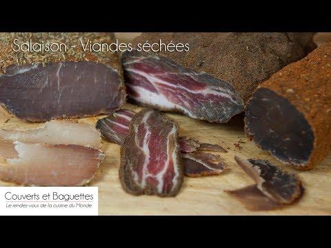 Salaison - Viandes séchés