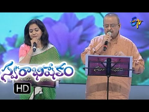 O Bangaru Rangula song | S P Balu & Sunitha Performance | Swarabhishekam | 9th Oct2016 | ETV Telugu