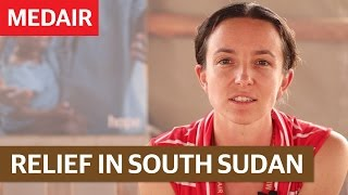 Providing relief in Medair's Stabilisation centre in Renk, South Sudan