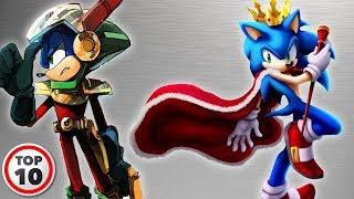 Top 10 Alternate Versions Of SONIC