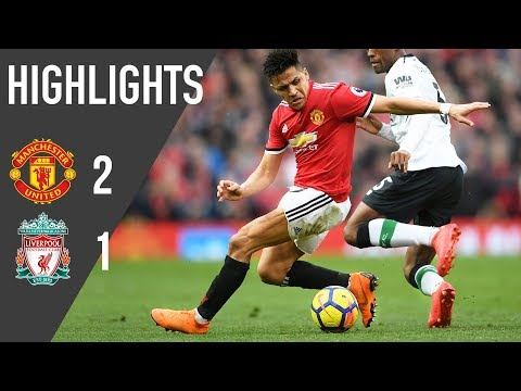 Manchester United 2-1 Liverpool | Premier League Highlights (17/18) | Manchester United