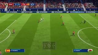 FIFA '18 - SPANIEN vs. WALES
