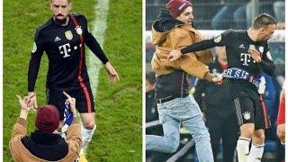 'Bufandazo' a Ribery  Hamburgo-Bayern Multa de 50.000 euros por la doble 'peineta' y el 'bufandazo'