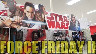 Star Wars Force Friday II | The Last Jedi Toy Haul!