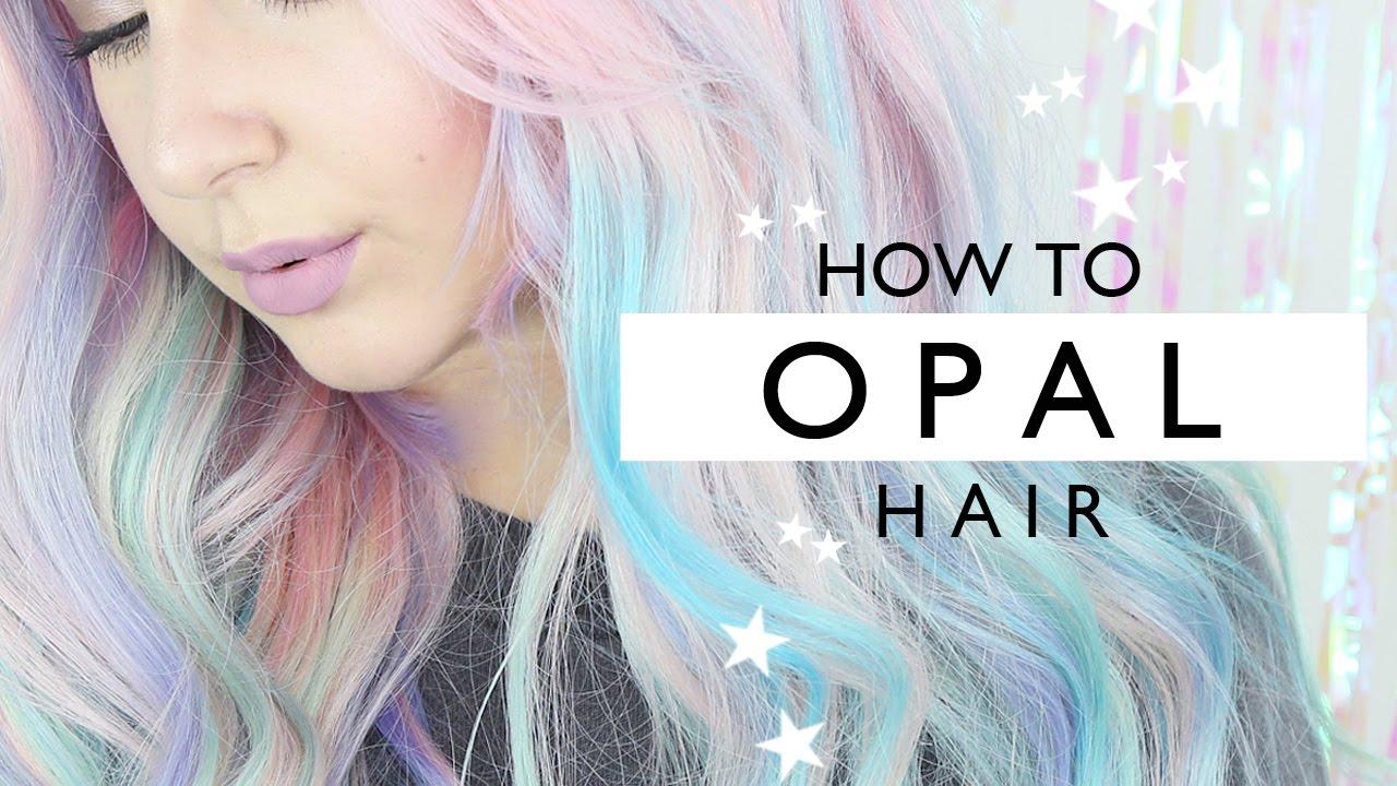 How To Opal Hair Tutorial By Tashaleelyn Youtube
