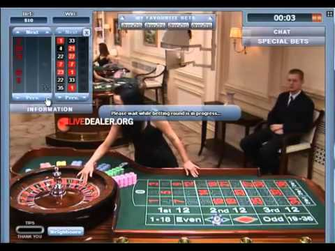 Live dealer Madara   roulette from Playtech's Latvia live site
