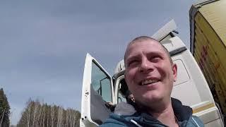 KamaZ(Mercedes Axor) 5490 Рейс Кугеси-Усть-Кут Это АД!!!Дальнобой по России