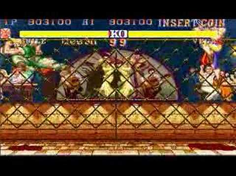 Street Fighter II Guile All Perfect 2/2