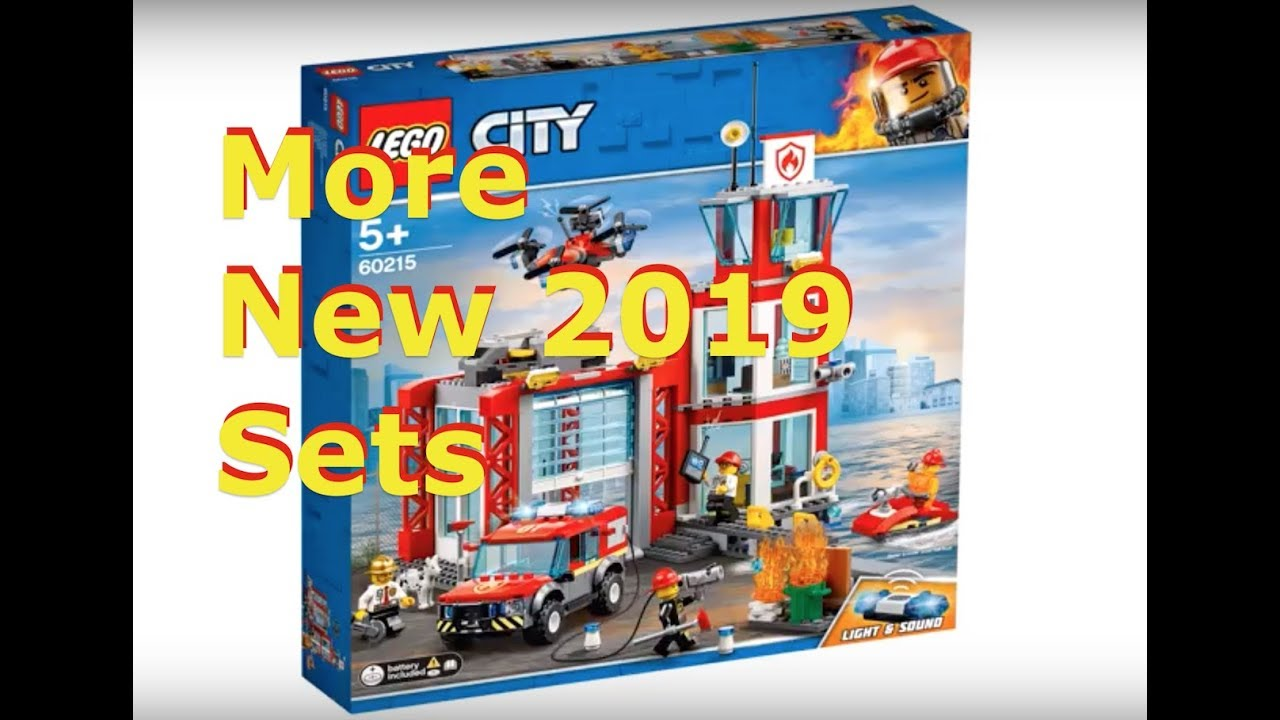 more new 2019 lego city fire sets youtube. Black Bedroom Furniture Sets. Home Design Ideas