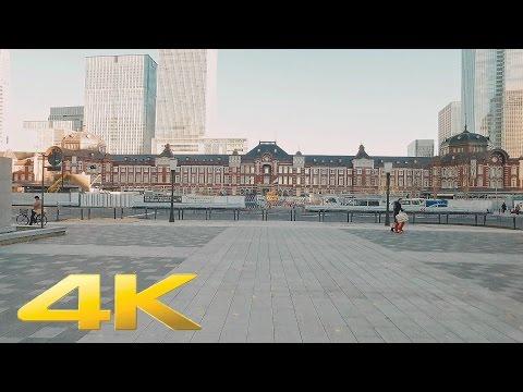 Tokyo Station and Marunouchi - Long Take【東京・東京駅/丸の内】 4K
