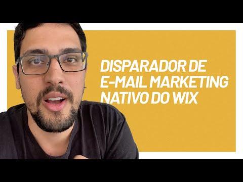Aprenda a usar o e-mail marketing da Wix Ascend | Aula #013