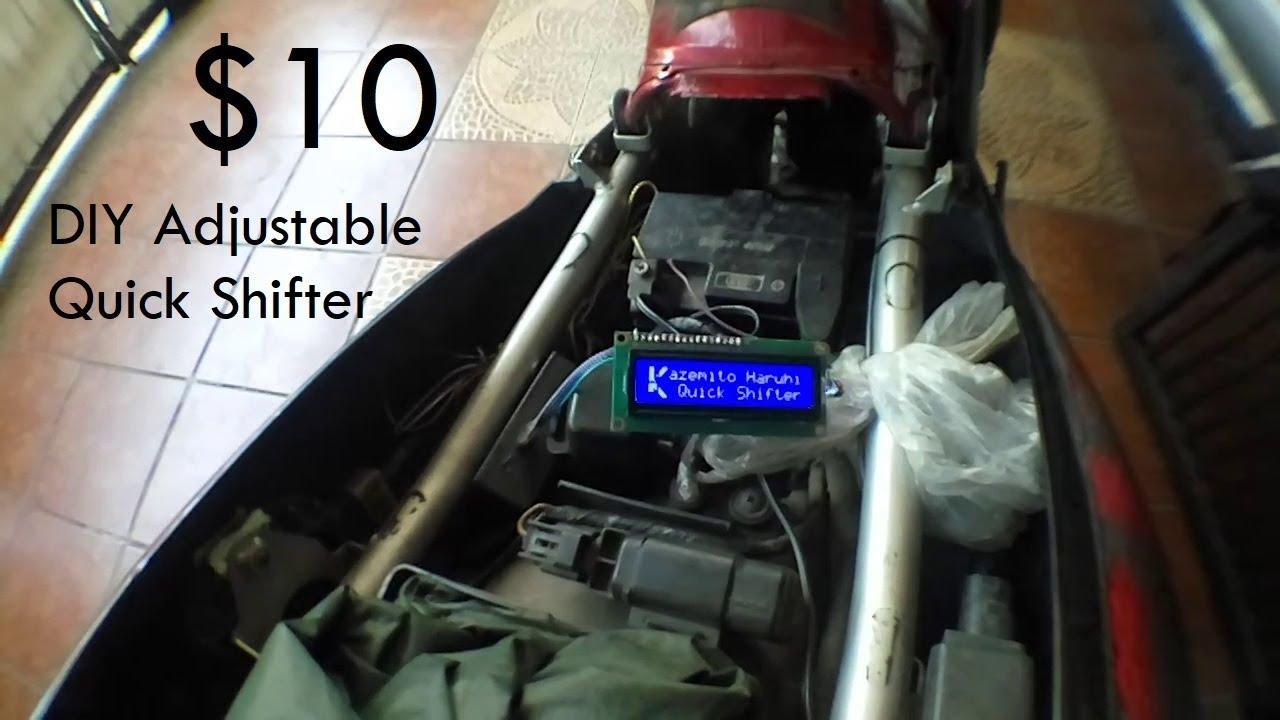 Diy Adjustable Quick Shifter Under 30 Youtube