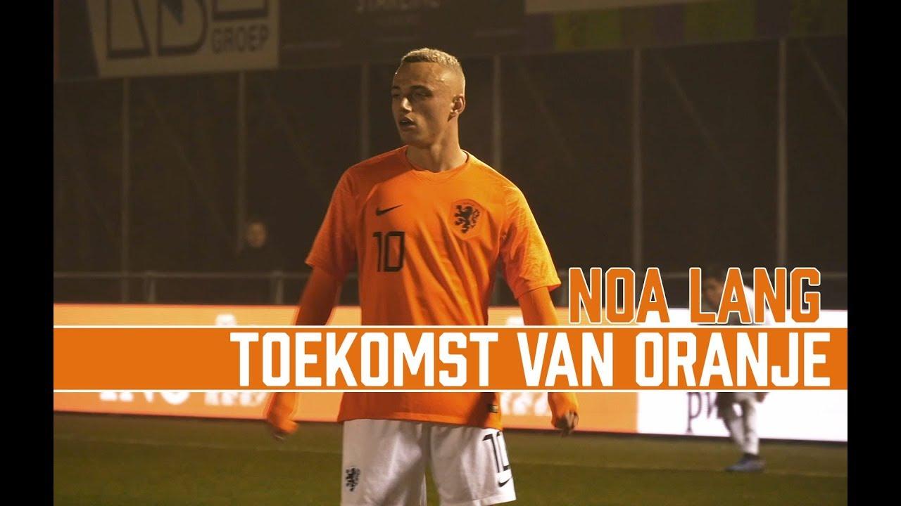 De Toekomst Van Oranje 14 Noa Lang Ajax Youtube