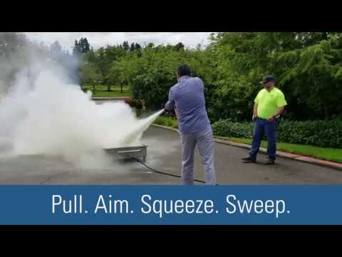 How To Use An ABC Fire Extinguisher To Put Out An Incipient Stage Fire