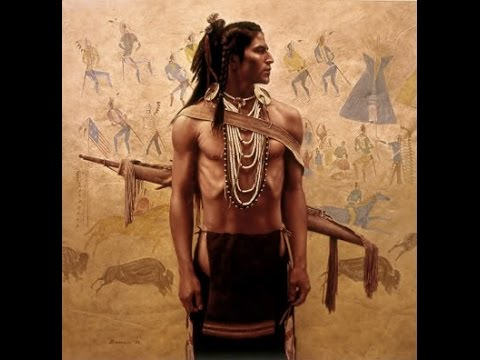 Taos Round Flute Dance - The Native American Indian