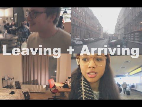 Leaving + Arriving | Copenhagen Study Abroad