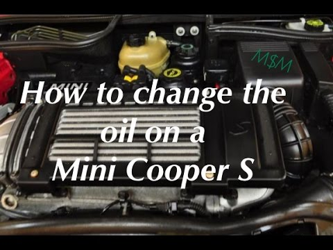 How To Change The Oil on a Mini Cooper, Mini Cooper S