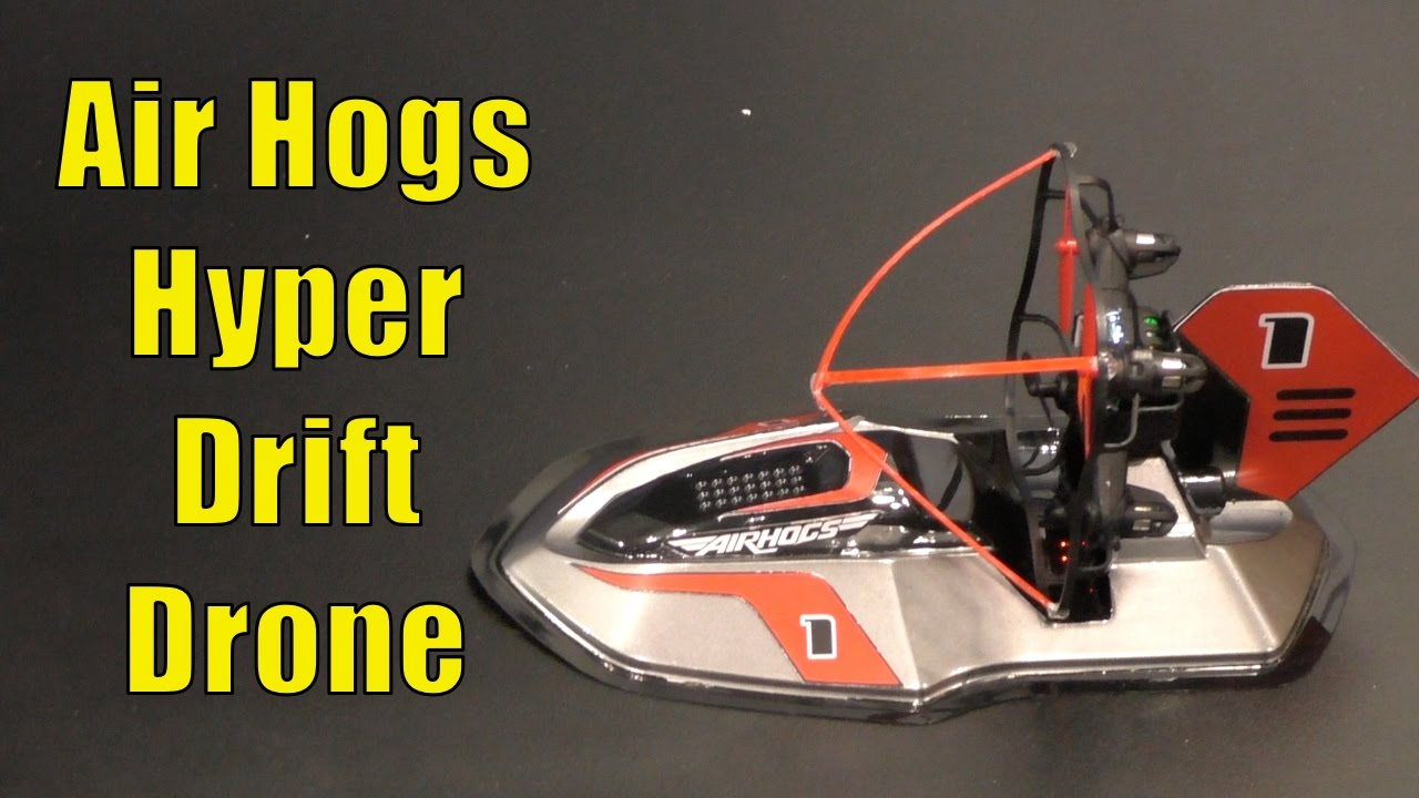 Air Hogs Hyper Drift Drone Hover Craft First Look Toy Fair 2017