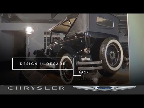 Chrysler | Design by Decade | The First Chrysler