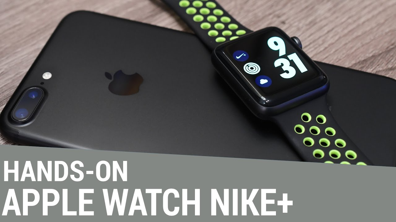 1d63df3679f Apple Watch Series 2 Nike+ Edition - Hands-On   Unboxing - YouTube