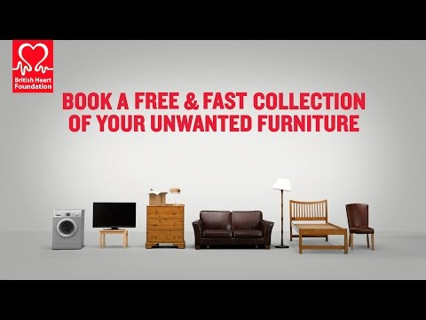 British Heart Foundation - Our Free Furniture and Electrical Collection Service