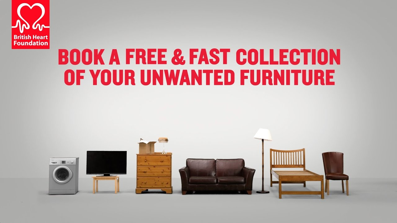free sofa uplift glasgow sure fit slipcovers for sofas british heart foundation our furniture and electrical collection service