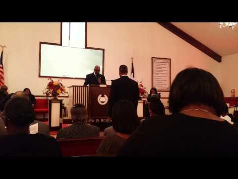 David Barnard Craig Initial Sermon 1