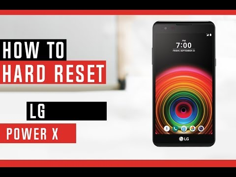 How to Hard Reset LG Power X Sprint Boost Mobile - Erase Everything