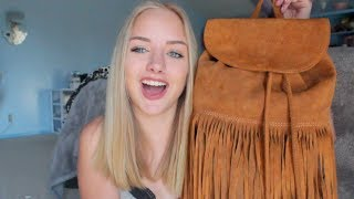 What's in my Bag!? | Maddi Bragg Thumbnail