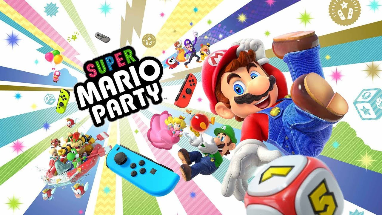 Super Mario Party Todos Los Minijuegos 80 Gameplay Nintendo Switch Youtube