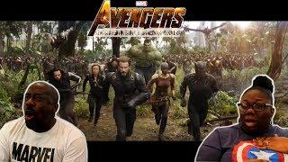 Marvel Studios' Avengers: Infinity War Official Trailer {REACTION!!}