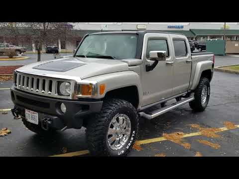 "35"" tires and 3"" lift kit on hummer h3t"