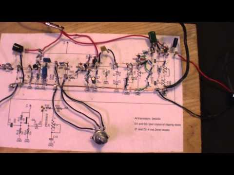 Randall RG100ES DIY Guitar Pre Amplifier / Distortion Pedal