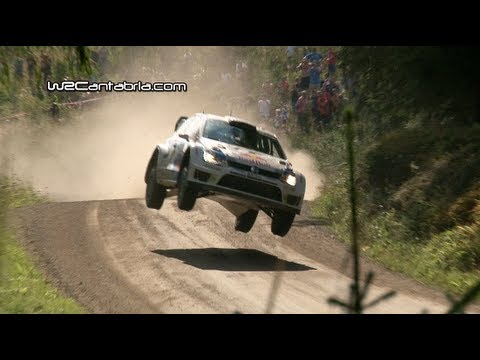 WRC Rally Finland 2013 | Jumps Crash & Show | HD Pure Sound