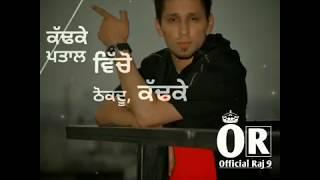 Crack Jatt   Kambi   New Punjabi Song   Watsapp status video   Latest Punjabi Song   Official Raj 9