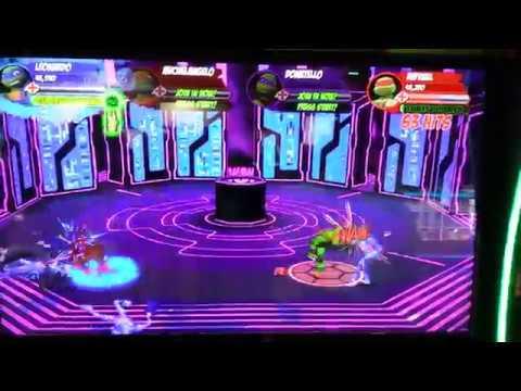 Gameplay: New Teenage Mutant Ninja Turtles Arcade Game by Raw Thrills  (Nickelodeon)