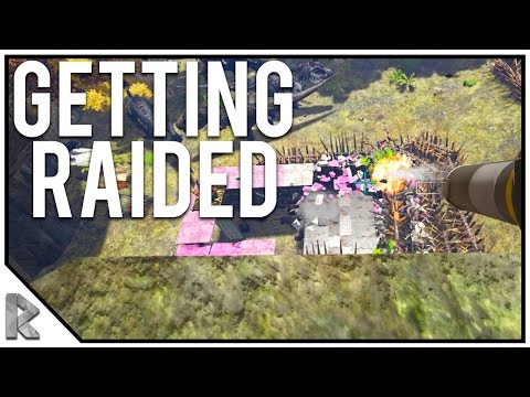 WE'RE GETTING RAIDED & WE COUNTER RAID! - Ark Survival Evolved Thieves Island PVP #19