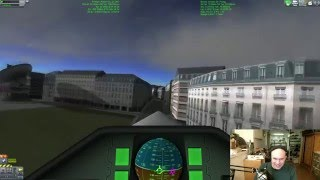 Livestream - Flying Jet Planes Between Buildings