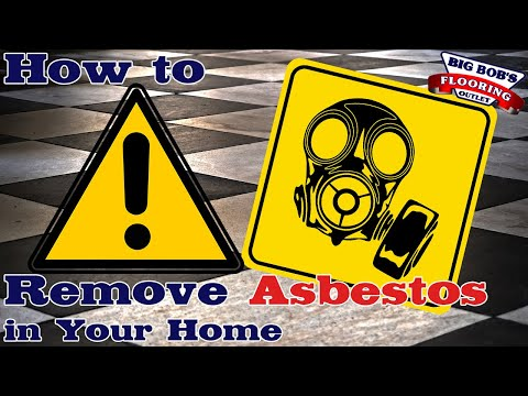 How To Remove Asbestos From Your Home! (2019)