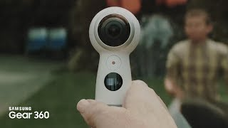 Samsung Gear 360 : Capturez vos meilleurs moments