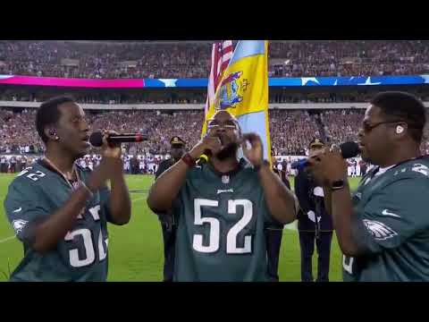 "Boyz II Men  ""The Star-Spangled Banner."""