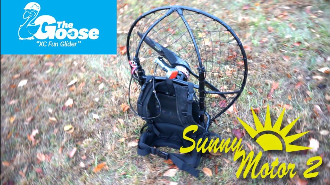 Sunny Motor V2 Electric Paramotor $1500-$2000 DIY Project