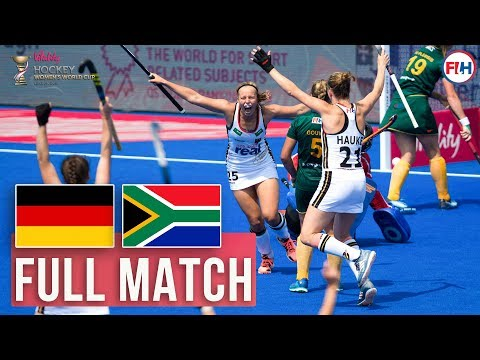 Germany v South Africa   Womens World Cup 2018   FULL MATCH
