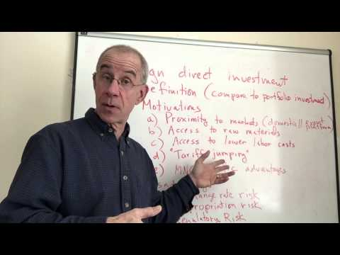 Foreign Direct Investment (Introduction)