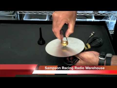 Fiberglass Roof Mount Antenna System Sampson Racing