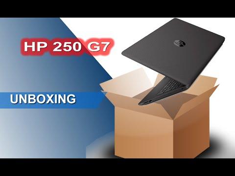 Unboxing HP 250 G7 Notebook 15.6 Pollici Intel i3 SSD 256 gb Ram 8 gb, Windows 10