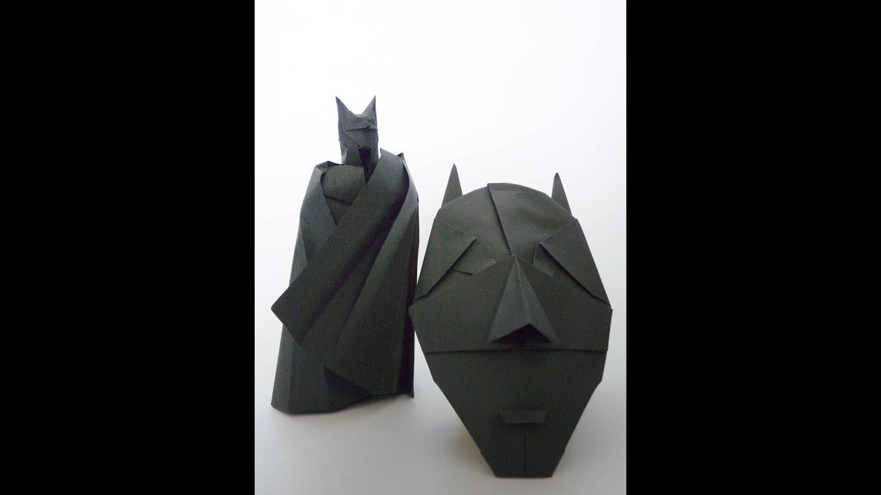 origami batman gabriel alvarez youtube