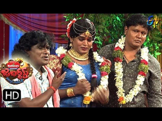 BulletBhaskarSunamiSudhakarPerformance | Jabardasth|  2nd November 2017| ETV  Telugu