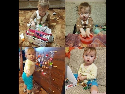 """""""РАЗВИВАШКИ"""" своими руками для ребёнка от 1 года. Игры дома в 1 год"""
